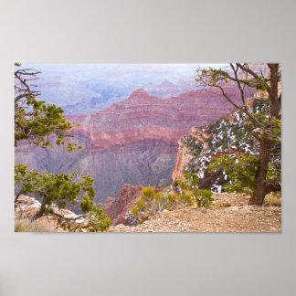 Poster Canyon grand de jante du sud