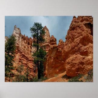 Poster Canyon Utah   de Bryce de point de Bryce