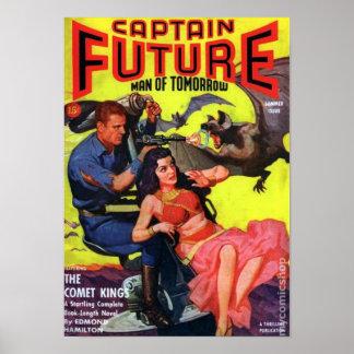 Poster Capitaine Future -- le roi de comète