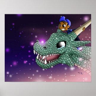 Poster Carlos et la copie de dragon