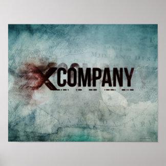 Poster Carte de X Company