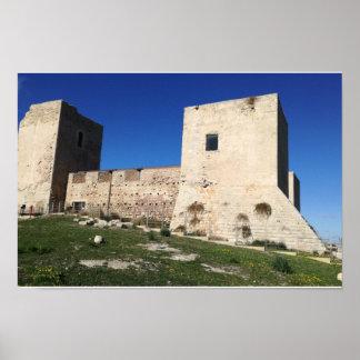 Poster Castello di San Michele Cagliari