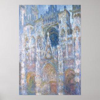 Poster Cathédrale de Claude Monet | Rouen