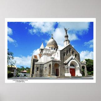 Poster : Cathédrale Sacré Coeur, Martinique Posters