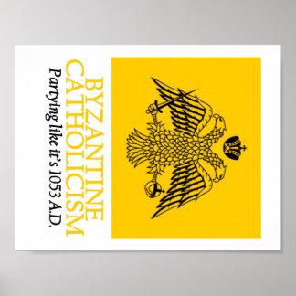 Poster Catholicisme bizantin : Affiche 1053