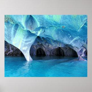 Poster Caverne de marbre