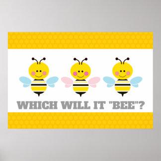 Poster Ce qui il genre d'abeille indiquera la bande