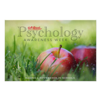 Poster Célébration de l'affiche de semaine de psychologie
