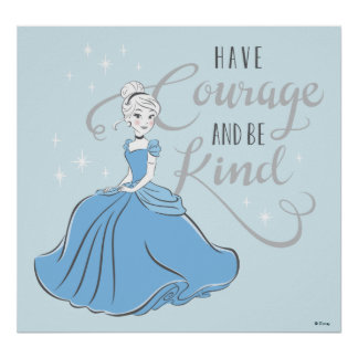 Poster Cendrillon | ont le courage