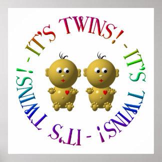 Poster C'est des jumeaux !