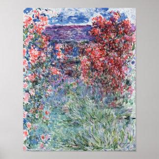 Poster Chambre de Claude Monet   chez Giverny sous les
