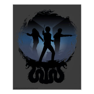 Poster Chambre de Harry Potter | de silhouette de secrets