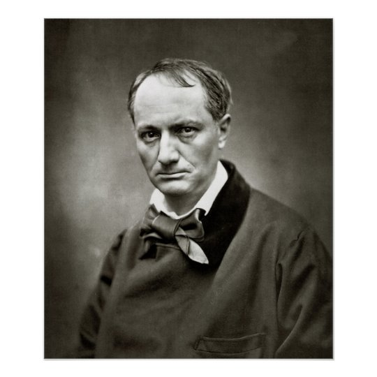 Poster Charles Baudelaire