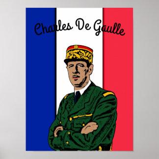 Poster Charles de Gaulle