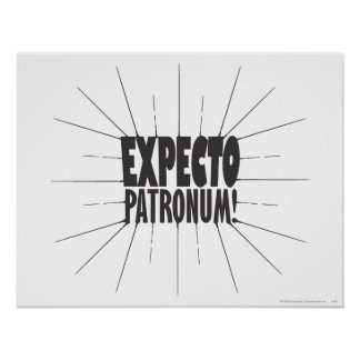 Poster Charme   Expecto Patronum de Harry Potter !
