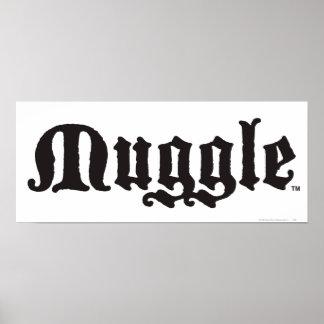 Poster Charme | Muggle de Harry Potter