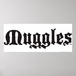 Poster Charme | Muggles de Harry Potter