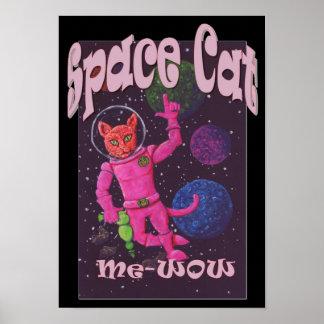 Poster Chat de l'espace