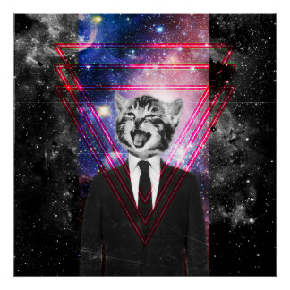 Poster Chat d'Illuminati