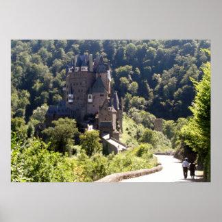 Poster Château d'Eltz de Burg