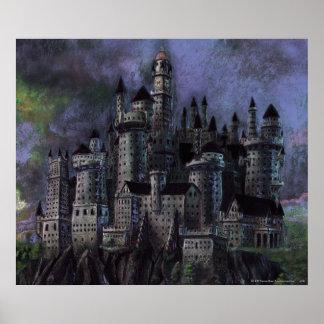 Poster Château | Hogwarts magnifique de Harry Potter