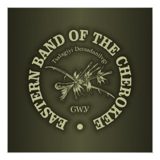 Poster Cherokee (bande orientale)