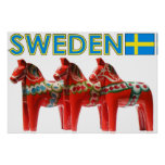 Poster Cheval de la Suède Dala
