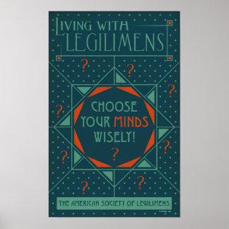 Poster Choisissez votre affiche de Legilimens d'esprits