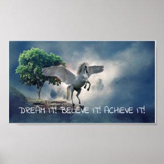 Poster Citation d'accomplissement de Pegasus