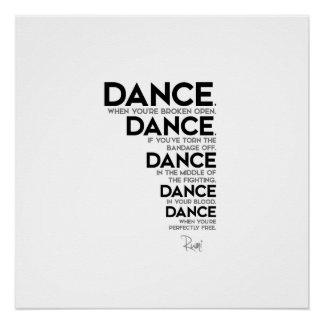 Poster CITATIONS : Rumi : Danse