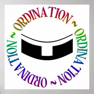 Poster Classification - ordres saints