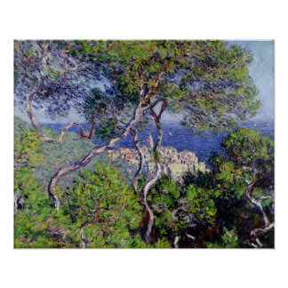 Poster Claude Monet | Bordighera, 1884