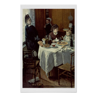 Poster Claude Monet | le petit déjeuner