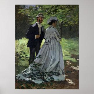 Poster Claude Monet | les auditeurs d'un