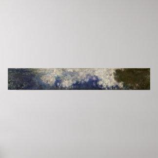 Poster Claude Monet | les nénuphars les nuages, 1914-18