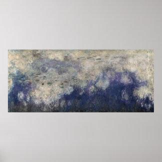 Poster Claude Monet | les nénuphars les nuages 1915-26