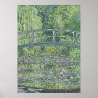 Poster Claude Monet | l'étang de nénuphar : Harmonie
