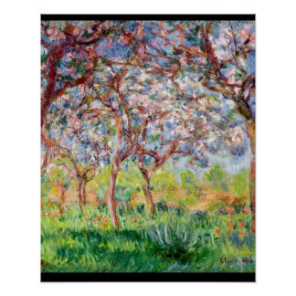 Poster Claude Monet | Printemps un Giverny