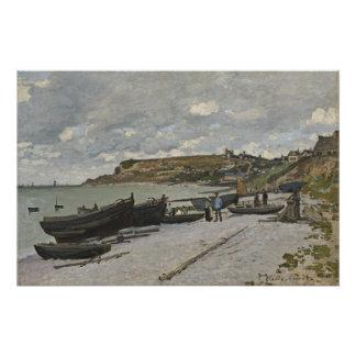 Poster Claude Monet   Sainte-Adresse, 1867
