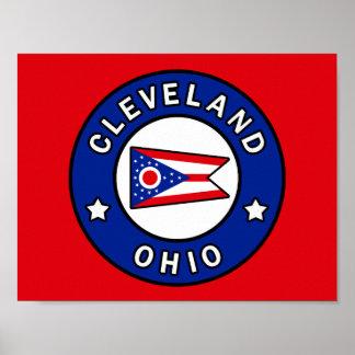 Poster Cleveland Ohio