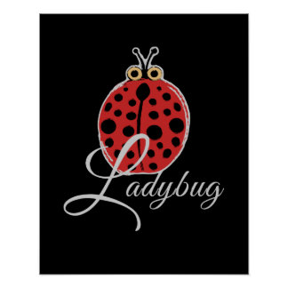 Poster Coccinelle chanceuse