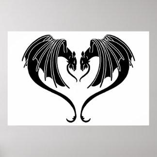 Poster Coeur de dragon