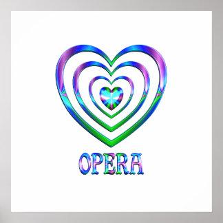 Poster Coeurs d'opéra