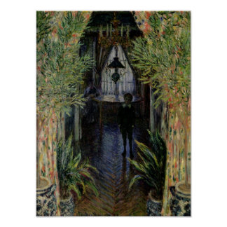 Poster Coin de Claude Monet | d'un appartement à