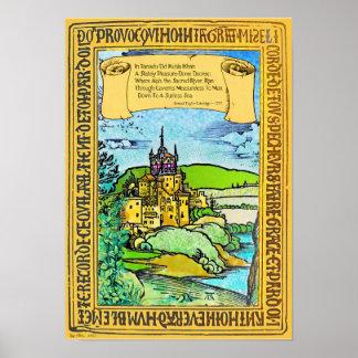 Poster Coleridge et Dürer dans Xanadu