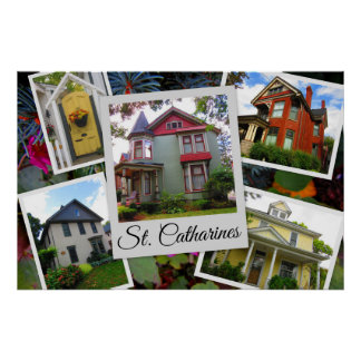Poster Collage de photo de St Catharines