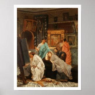 Poster Collecteur d'Alma-Tadema | à l'heure d'Augustus