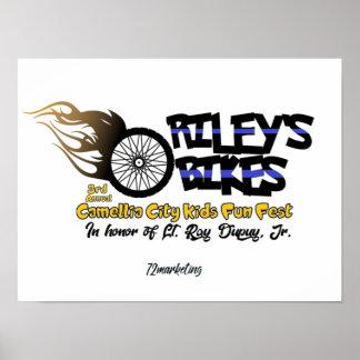Poster Collecteurs des vélos de Riley d'affiche