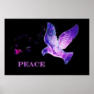 Poster Colombe de paix