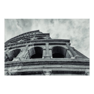 Poster Colosseum. Rome, Italy.